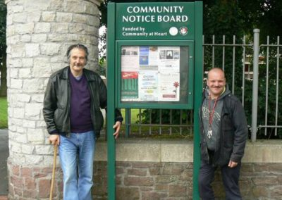 Community noticeboards