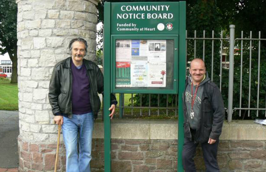 Community noticeboards