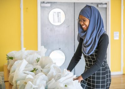 Somali Kitchen food parcels