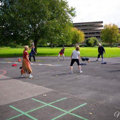 #LiftUpLockdown Dance in the park